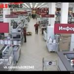 Wpadka pracownika sklepu