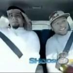 Kierowca rajdowy wystraszył Araba