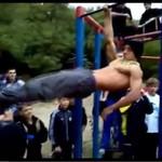 Odessa - uliczny team sportowców