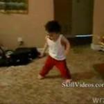 Breakdance w wykonaniu dzieciaka