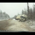 Ciężarówka kontra zima