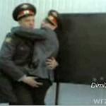 Taniec rosyjskich oficerów policyjnych