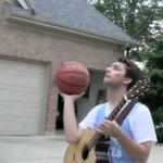 Połączenie muzyki i koszykówki - WOW!