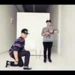 Układ taneczny do beatboxu