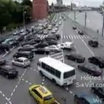 Moskwa - kłopotliwy skręt w lewo