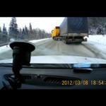 """Ciężarówka - poślizg """"kontrolowany!"""""""