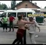 Pobił swoją partnerkę... na ulicy!