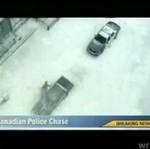 Policyjny pościg w Kanadzie
