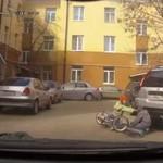 Zderzenie rowerzystów - o rety...