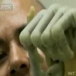 Biomechaniczna ręka byłego żołnierza