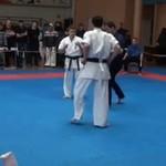 Epicki nokaut w karate
