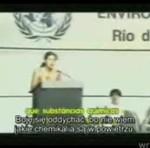 Politycy z całego świata usłyszeni to przemówienie w 1992 roku