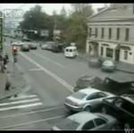 Wypadki drogowe w Moskwie - MOCNE!