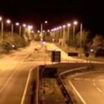 Imponujący nocny drift