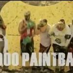Paintballowy protest przeciwko biedzie