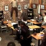 Czarownica w kawiarni - świetny kawał!