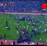 Walka kiboli - tłum na boisku!