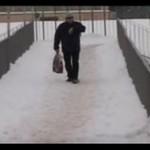 Zimowy absurd w Olkuszu