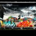 Dziewczyna robi graffiti - ŚWIETNE!