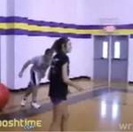 Wpadka na sali gimnastycznej!