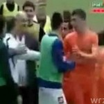 Trener POBIŁ piłkarza!
