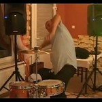 Szalony weselny perkusista