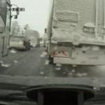 Kierowca źle obliczył odległość...