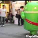 Naspeedowana maskotka Androida