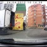 Rosja - zuchwała kradzież pęta kiełbasy