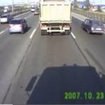 Ten motocyklista otarł się o śmierć!