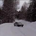 Audi 80 Quattro na śniegu