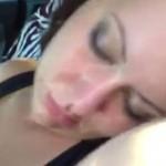 Zasnęła na czerwonym świetle