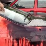Nissan Skyline R33 zmienia kolor pod wpływem ciepła