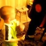 Polak uczył syna, jak być kibolem