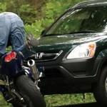 Wypadki motocyklowe - MIELI SZCZĘŚCIE!