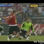 Pierwszy gol Hiszpanów!