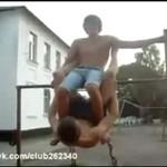 Rosjanie ćwiczą gimnastykę - WOW!