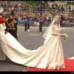 Suknia ślubna Kate Middleton projekt- Sarah Burton