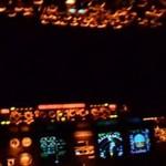 Airbus A320 - lądowanie w Warszawie