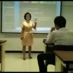 Nauczycielka kontra iPod
