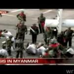 Militarna przemoc na ulicach Birmy