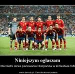 4:0 dla Hiszpanii - PIĘKNE!