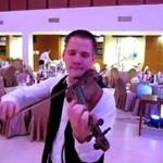 Trening skrzypka weselnego