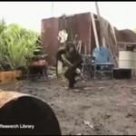 Małpa z karabinem