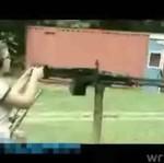 Amerykańscy wieśniacy uczą dzieci strzelać