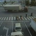 Wypadek chińskiej ciężarówki