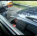 Kierowcy przyblokowali cwaniaczka
