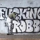 Banksy i Robbo - bójka dwóch grafficiarzy!