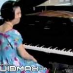 Wzruszający koncert niepełnosprawnej pianistki!
