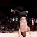 Zawody breakdance dla karłów